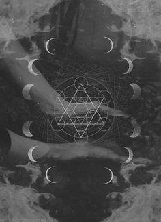 Moon Phases Illustration, Sky, La Luna, Hands artwork from http://feedly.com/e/Pbj0_5Mf #shopdixi #supernova