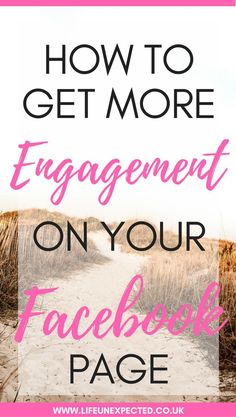 How to get more engagement on your facebook page and how to grow it organically but quickly.