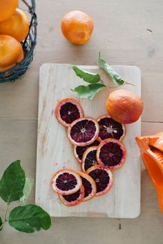 Blood oranges <---- I LOVE blood oranges they have the best flavor!