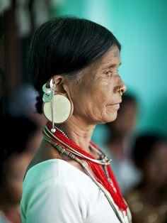 Lanjia Saora woman - India
