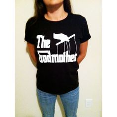 The Godmother Gift Godmother Shirt Italian Baptism ($19) ❤ liked on Polyvore