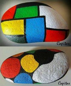 Pebble Painting, Dot Painting, Pebble Art, Stone Painting, Mandala Painted Rocks, Hand Painted Rocks, Rock Painting Ideas Easy, Rock Painting Designs, Stone Crafts