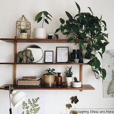 Nice 65 Simple Bedroom Shelves Design Ideas https://roomaholic.com/1036/65-simple-bedroom-shelves-design-ideas