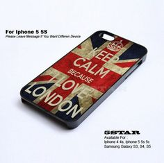 -Love London Case For Apple Iphone 4/4s 5/5s/5c | 5STAR - Accessories on ArtFire
