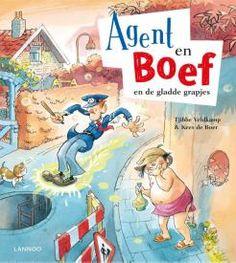 Agent en Boef en de gladde grapjes | De wereld van Agent en Boef is er één vol fratsen, die jonge lezers doen schateren.