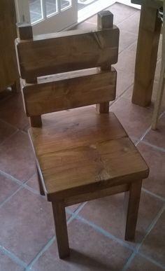 New Handmade Rustic Kitchen Chairs 013