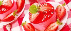 Truskawkowo – jogurtowa pianka