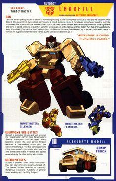 Transformers Universe - Gallery: G1 Landfill