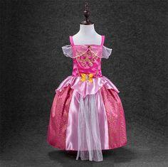 De Moda De Nova Crianças Crianças Cosplay Vestidos Mais Recente Cinderela Elsa Vestidos Baby Meninas Fantasia Princesa Roupas De Festa