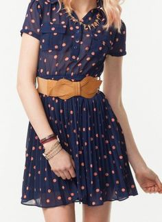 Vintage Betty Dot Dress,  Dress, vintage, Casual