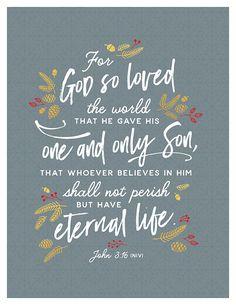 December 20, John 3:16