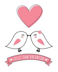 Tarjetas de San Valentín para imprimir. Valentine's Day http://manualidades.euroresidentes.com/2014/01/las-20-mejores-tarjetas-romanticas-para.html