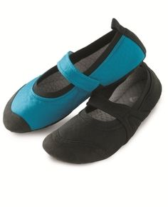 Acorn Women's Travel Mary Jane Slipper Turquoise S from Magellan's on Catalog Spree, my personal digital mall.