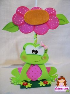 pixels, also love this for me and my BFF LAMP😘👍🌸 Foam Crafts, Yarn Crafts, Diy And Crafts, Crafts For Kids, Arts And Crafts, Paper Crafts, Crochet Leaves, Frog And Toad, Felt Fabric