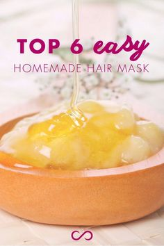 6⃣ DIY Hair Mask Recipes You Can Make At Home! #Beauty #Trusper #Tip