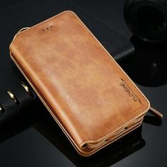 Leather wallet case for iphone and samsung galaxy products кожа мастерство, Iphone Wallet Case, Card Wallet, Iphone 5s, Iphone Cases, 5s Cases, Apple Iphone, Looks Vintage, Style Vintage, Leather Wallet