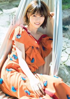 日々是遊楽 — darkserika: 西野七瀬 (Nanase Nishino) Cute Japanese, Japanese Beauty, Asian Beauty, Japan Model, Oriental, Kawaii, Sexy Teens, Japan Girl, Orange Dress