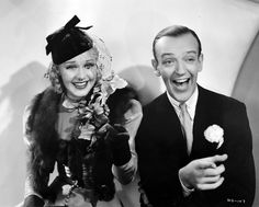 Fred-Astaire and Ginger Rogers in Swing-Time, the two together . Look beautiful to me.