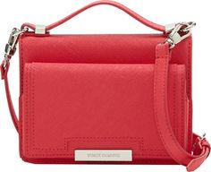 Women's Cross-Body Handbags - Vince Camuto Womens Mila Crossbody Watermelon Cross Body * Click on the image for additional details.