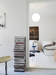 Decoración de un pequeño piso de 31m²
