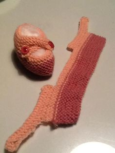 baby booties knitted easy way: