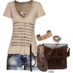 """""""Music In My Heart"""" by tmlstyle on Polyvore"""