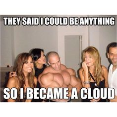 Cloud. Why is this so funny? Why can't I stop laughing?! Cloud ! Bahahahaha