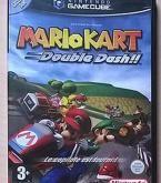 MARIO KART DOUBLE DASH   Description : Retrouvez les personnages tirés de l'univers du plombier moustachu dans Mario Kart : Double Dash !! sur Gamecube. Les courses effrénées se déroulent à présent en tandem sur des véhicules aussi variés que loufoques. Le titre du jeu se justifie par une nouveauté qu'est le dérapage, vous gratifiant d'un petit turbo s'il est correctement effectué. Préparez vos carapaces !  Voix en français | Textes en français   micro rayures d'usage normal fonctionne…