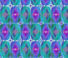 Hidden_Gems fabric by paula's_designs on Spoonflower - custom fabric