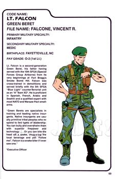 Falcon (v1) G.I. Joe Action Figure - YoJoe Archive
