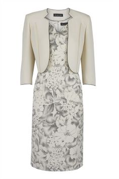 mother of the bride shift dress and cropped jacket - Google Search