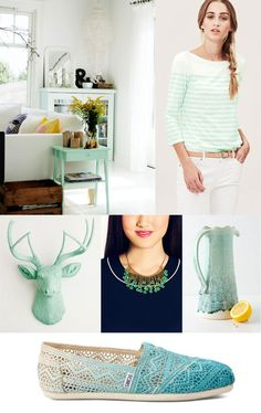 Color Trend: Seafoam Green // Twin Stripe