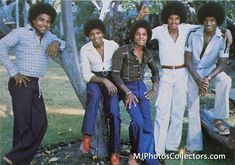 The Jacksons - 1978 - Chris Walter Photoshoot Jackie Jackson, Tito Jackson, Jermaine Jackson, The Jackson Five, Jackson Family, Facts About Michael Jackson, Photos Of Michael Jackson, Michael Love, Bonnie Bennett