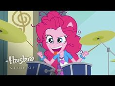 "MLP: Equestria Girls - Rainbow Rocks EXCLUSIVE Short - ""Pinkie on the One"""