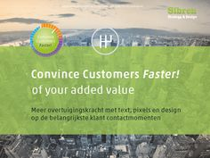 convincefaster.com your added value with strategy, text, pixels and design