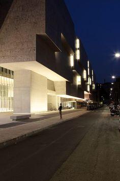 bocconi university. in milan. 2008. by grafton architects