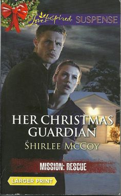 Product Details  •Title: Her Christmas Guardian •Series: Mission: Rescue Book #2  • Author: Shirlee McCoy • Mass Market Paperback: 279 pages • Publisher:  Love Inspired Large Print Edition (December 2, 2014)  • Language: English •ISBN-10: 0373676476 •ISBN-13: 978-0373676477 • Product Dimensions:  4.2 x 0.8 x 6.6 inches  •Condition: Very Good, no markings, tears, or rips. Tight Binding, soft cover shows some minor wear, Read Once and stored