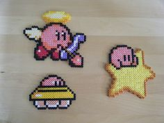 Kirby hama perler beads by Pix-l-and