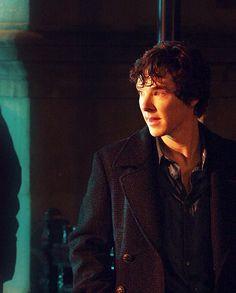 Sherlock in the pilot. Babybatch always gets me