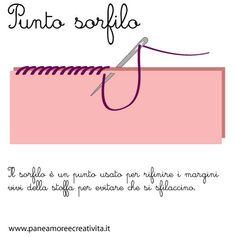 Punto Catenella Ripassato Ricamo Embroidery Stitches Embroidery