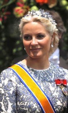 THE TIARA  H.R.H. Crown Princess Mette-Marit of Norway, née Hoiby