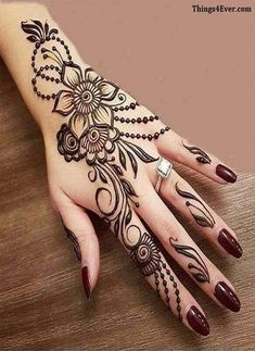 345 Best Latest Mehndi Images Images In 2019