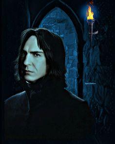 Professor Severus Snape, Harry Potter Severus Snape, Severus Rogue, Harry Potter Actors, Harry Potter Fan Art, Draco Malfoy, Snape Always, Dark Harry, Alan Rickman