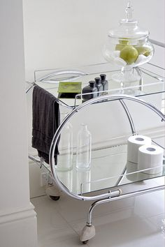 Items similar to SOLD - Traymobile - Art Deco Drink Trolley on Etsy