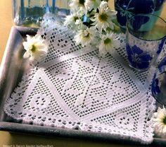 Вязаные салфетки и мелочи для дома | VK