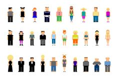 Picto People by Stephanie Jagiello on Creative Market