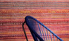 An ethnic textile all-over print with a horizontal weave Pizza Restaurant, Textiles, Interior Concept, My Dream Home, Weaving, Ethnic, Drawings, Pattern, Design Concepts