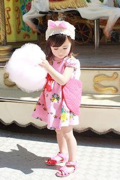pink fashion    #fashion #kids annika
