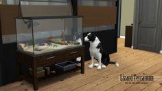 Lizard Terrarium s3 to s4 conversion at Enure Sims via Sims 4 Updates