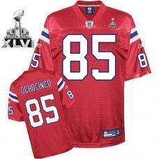 Patriots  85 Chad Ochocinco Red Alternate Super Bowl XLVI Stitched NFL  Jersey Chad Ochocinco a3c8719e9